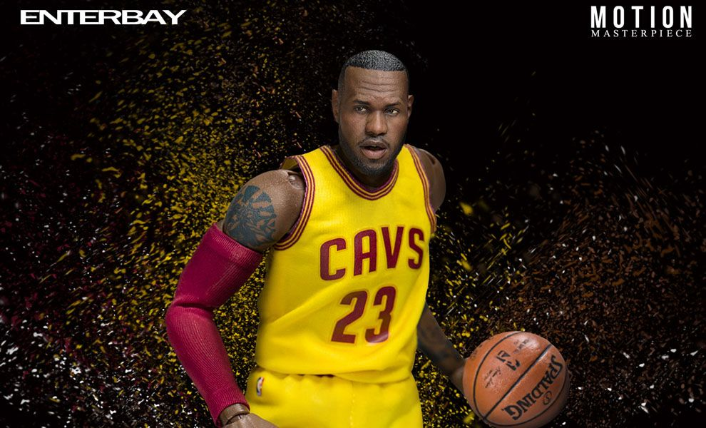 Enterbay MM-1205 MOTION MASTERPIECE NBA LeBron James