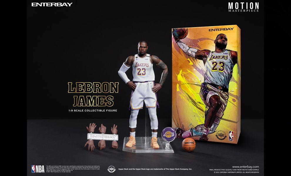ENTERBAY  MM-1210  EB 1/9 Motion Masterpiece NBA LeBron James Banner