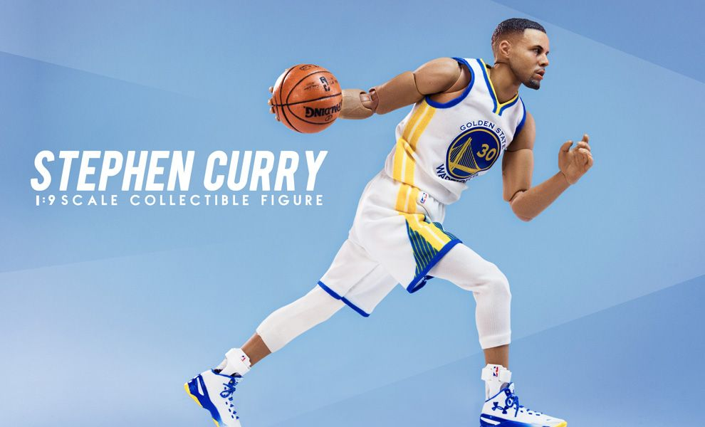 ENTERBAY NBA MOTION MASTERPIECE 1/9 MM-1201 STEPHEN CURRY