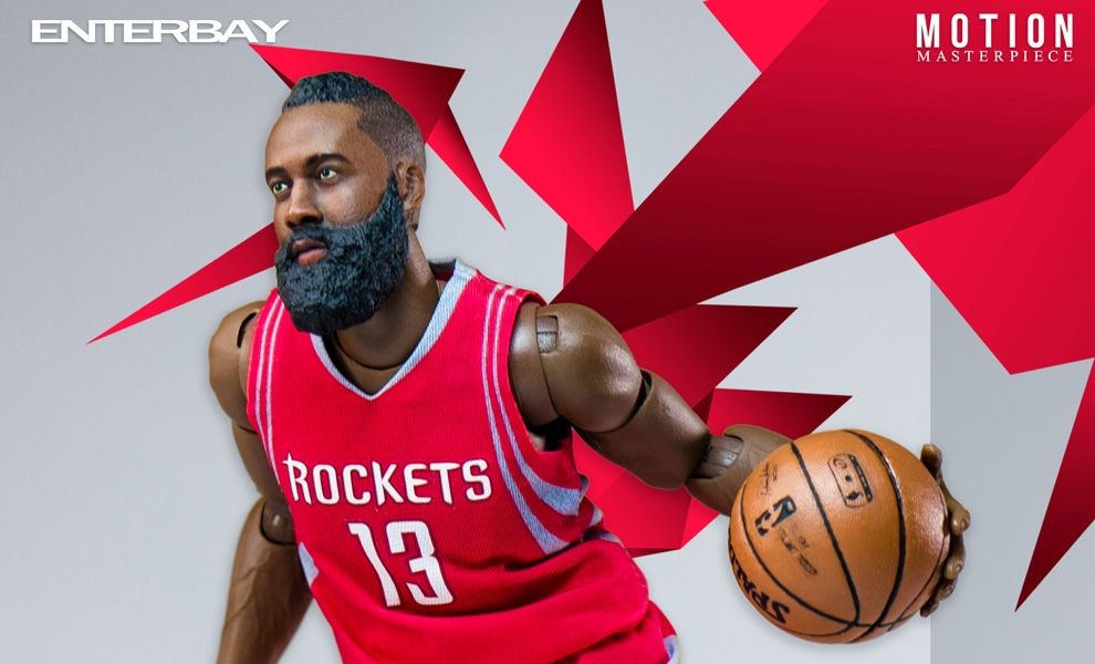 ENTERBAY NBA MOTION MASTERPIECE 1/9 MM-1202 JAMES HARDEN