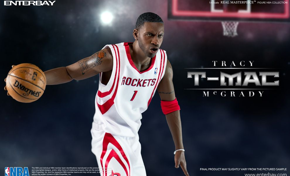 ENTERBAY RM-1067 REAL MASTERPIECE 1/6 TRACY MCGRADY NBA COLLECTION