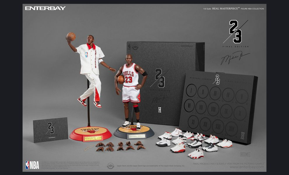Enterbay RM-1081 NBA Michael Jordan Final Limited Edition