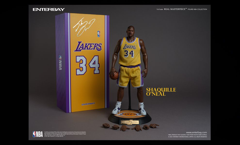 Enterbay RM1085 Shaquille O'Neal NBA Collection Action Figure Banner