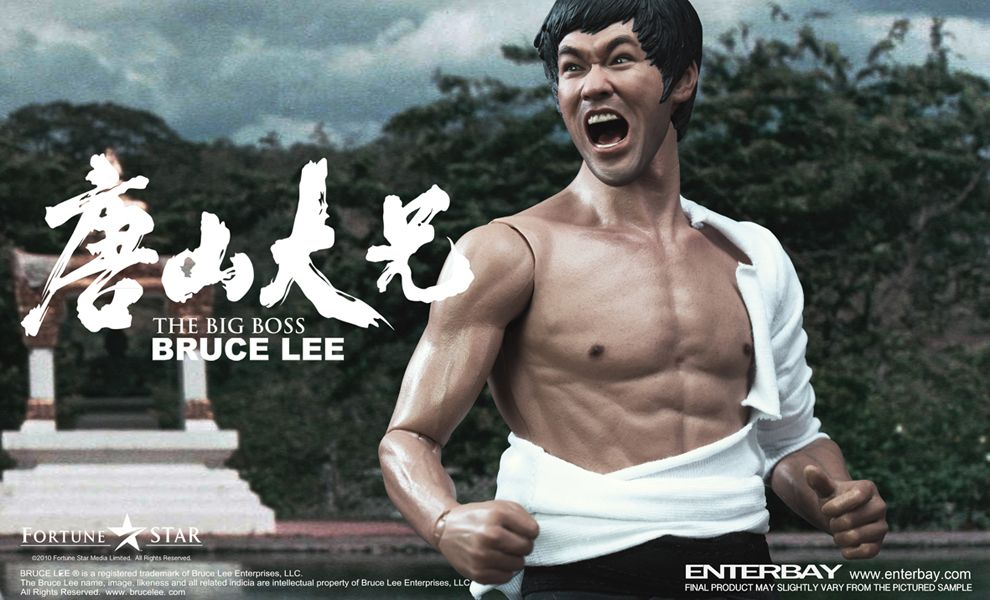 ENTERBAY RM-1056 THE BIG BOSS BRUCE LEE