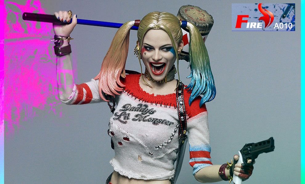 FIRE-TOYS-A008-SUICIDE-SQUAD-HARLEY-QUINN-UGLY-DAUGHTER-HARRY-KUI-YIN