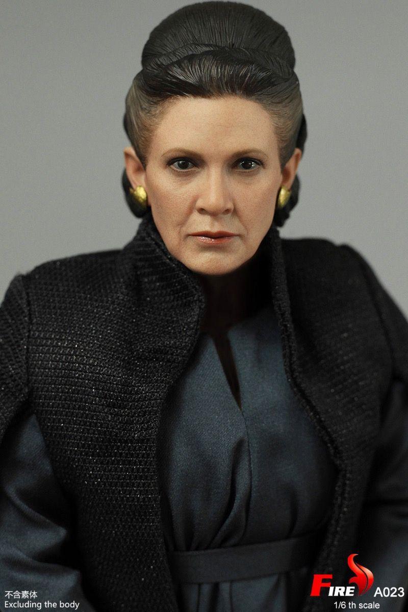 Fire Toys A023 | Star Wars - Old Age Princess Leia - A023 ... How Old Was Princess Leia