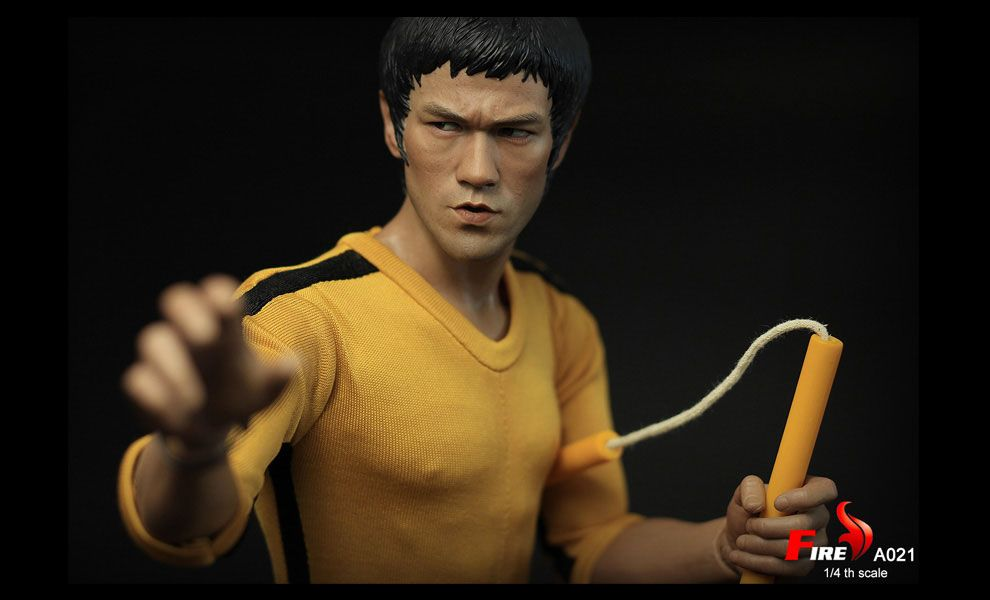 FIRE A021 1/4 Game of the Death Bruce Lee