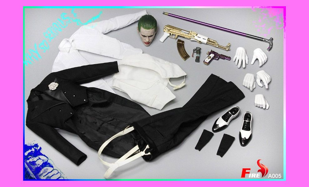 FIRE TOYS A005 SUICIDE SQUAD THE JOKER TUXEDO VERSION