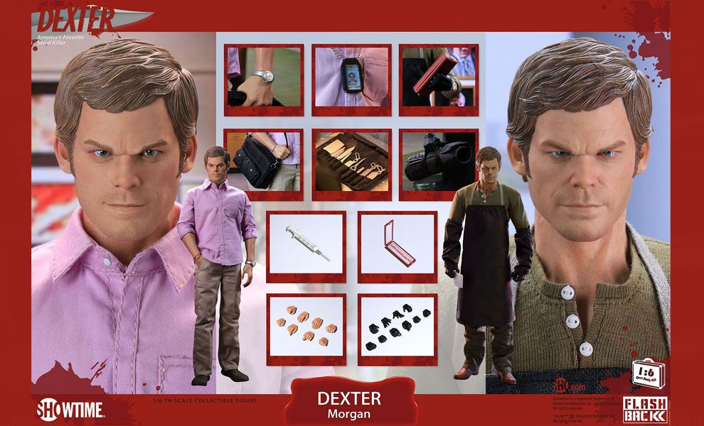 FLASHBACK Dexter Morgan 1/6 Action figure Banner