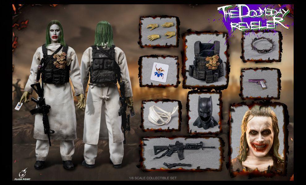 Flashpoint Studio FP-22156B Justice League Doomsday Reveler Deluxe Edition Joker Banner