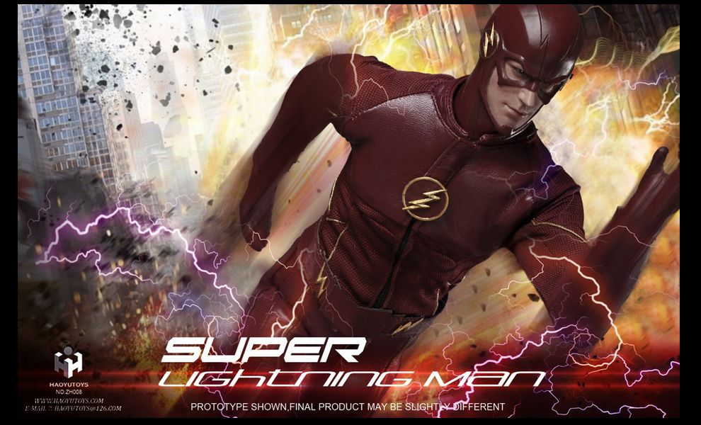 HAOYU TOYS FLASH SUPER LIGHTNING MAN