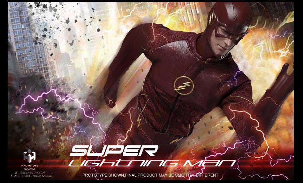 HAOYU TOYS FLASH SUPER LIGHTNING MAN