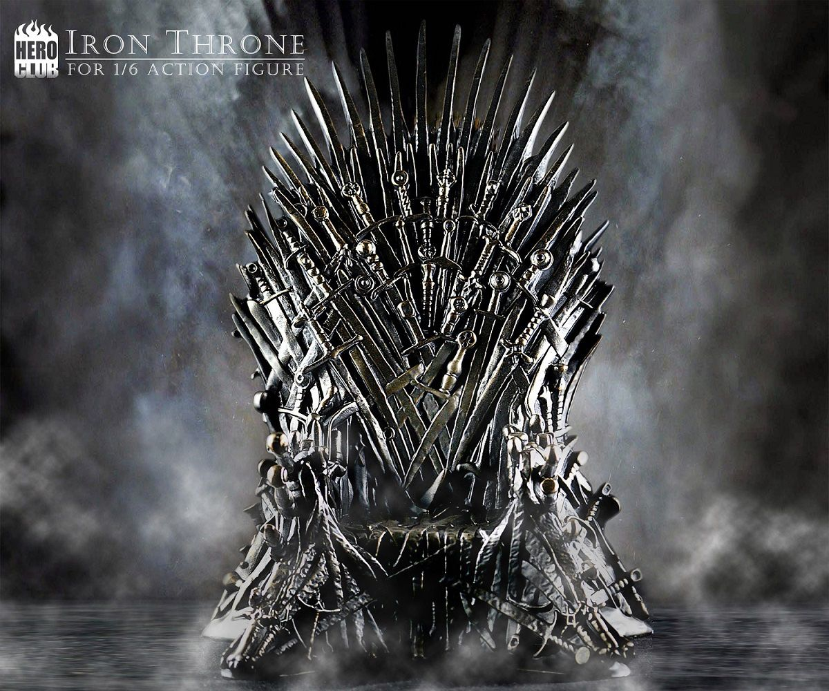 Game Of Thrones Throne Wallpaper: Iron Throne - Game Of Thrones - For Action
