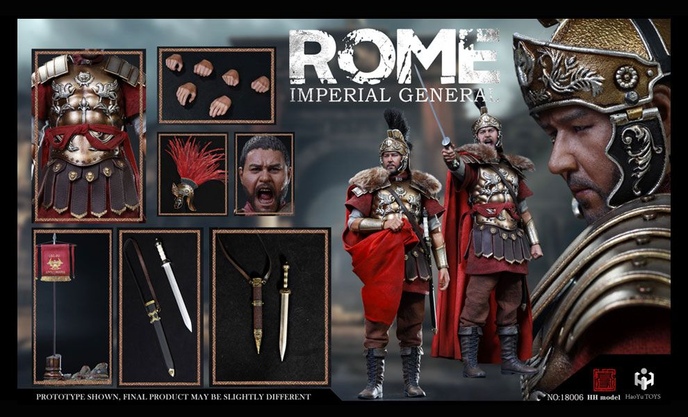HHmodel x HaoYuTOYS HH18006 Imperial Army Imperial General Deluxe Edition Generale Massimo Banner