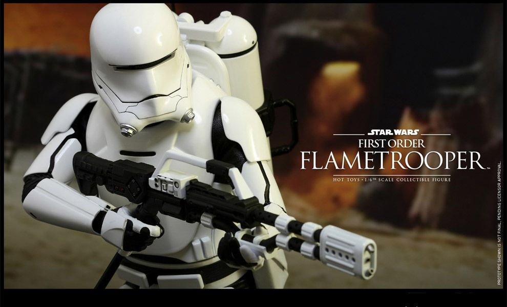 HOT TOYS MMS326 STAR WARS FIRST ORDER FLAMETROOPER
