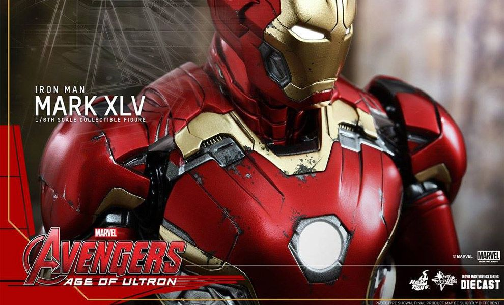 HOT_TOYS MMS300D11 AVENGERS AGE OF ULTRON IRON-MAN MARK XLV
