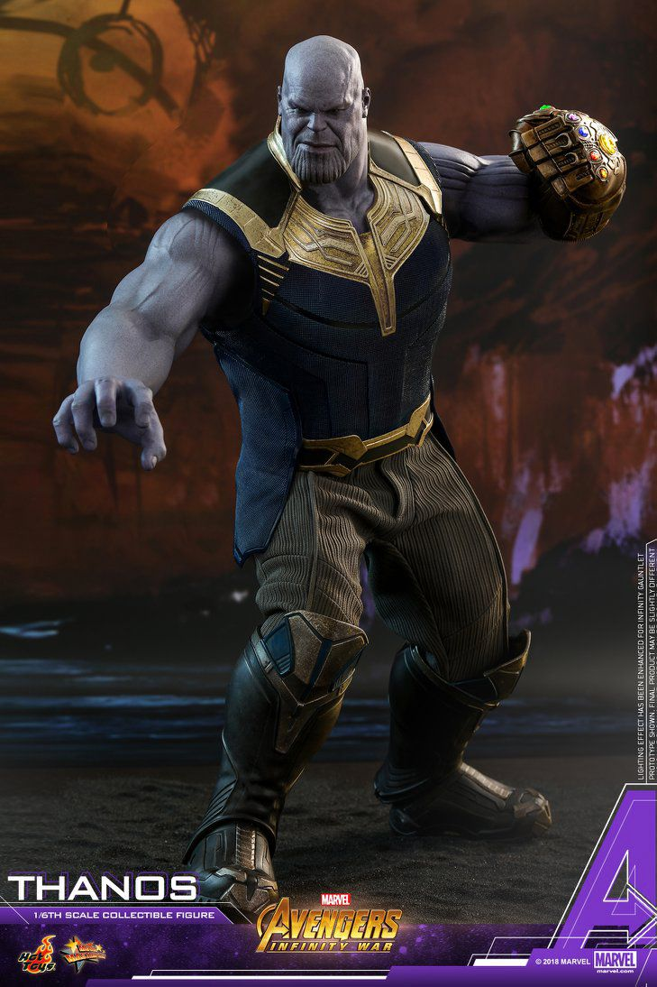 Hot Toys MMS479 | Avengers Infinity War - Thanos - action