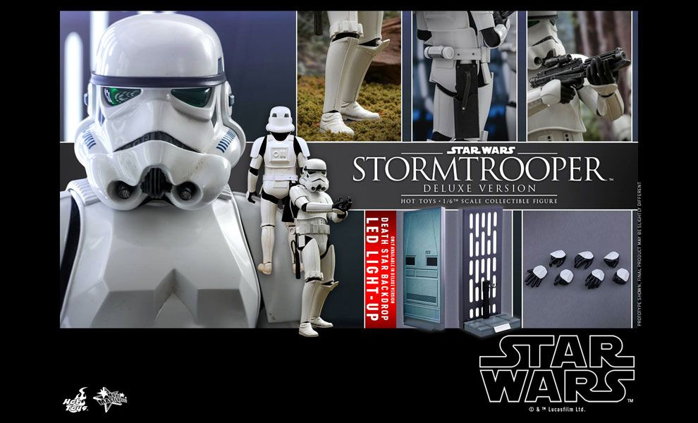 HOT TOYS MMS515 STAR WARS STORMTROOPER DELUXE VERSION