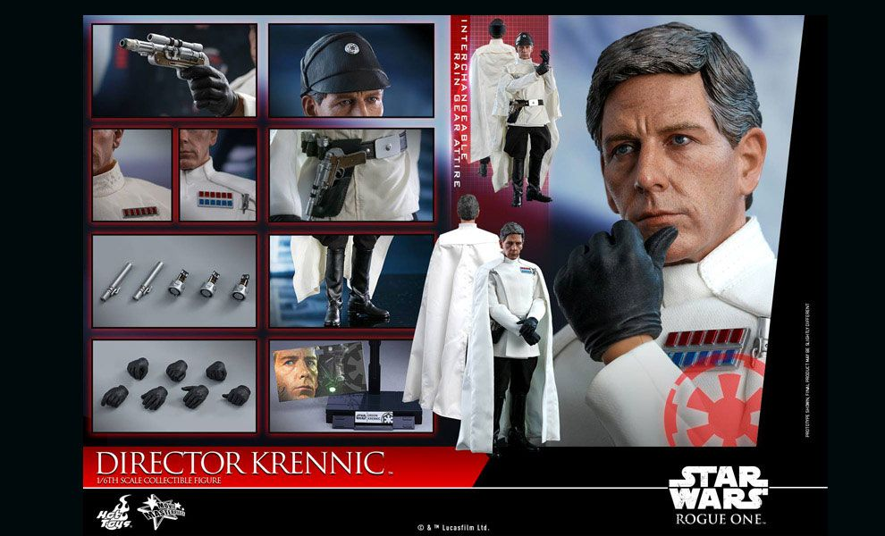 Hot Toys MMS519 Star Wars Rogue One Director Krennic 1/6 figure