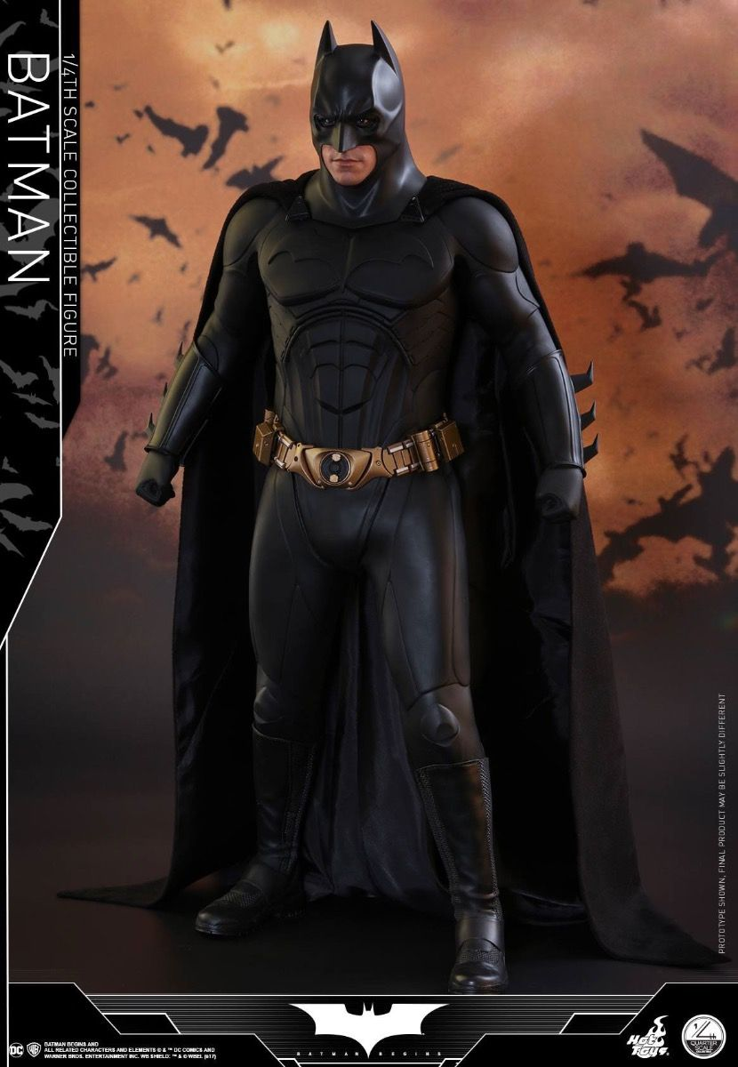 hot toys qs009 batman begins 1 4 bruce wayne toysheroes. Black Bedroom Furniture Sets. Home Design Ideas