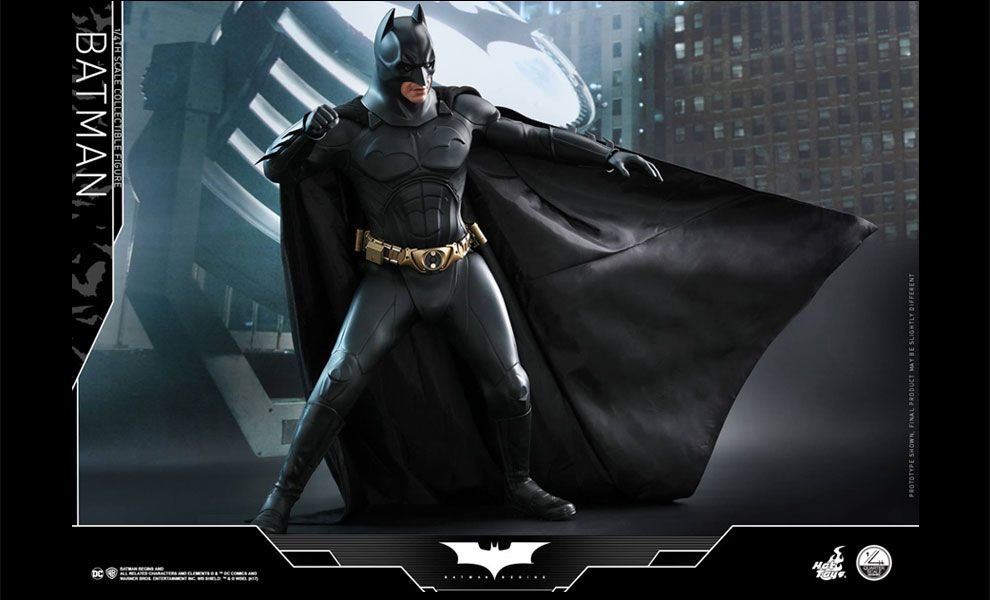 Hot Toys QS009 Christian Bale as Bruce Wayne Batman Begins 1/4th scale Collectible Figure