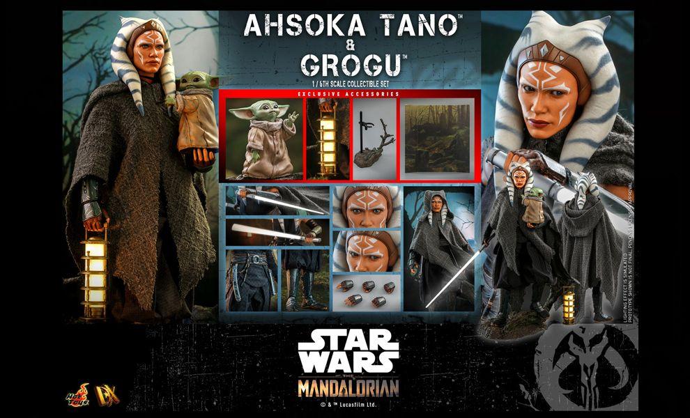Hot Toys DX21 Ahsoka Tano & Grogu Star Wars The Mandalorian BANNER