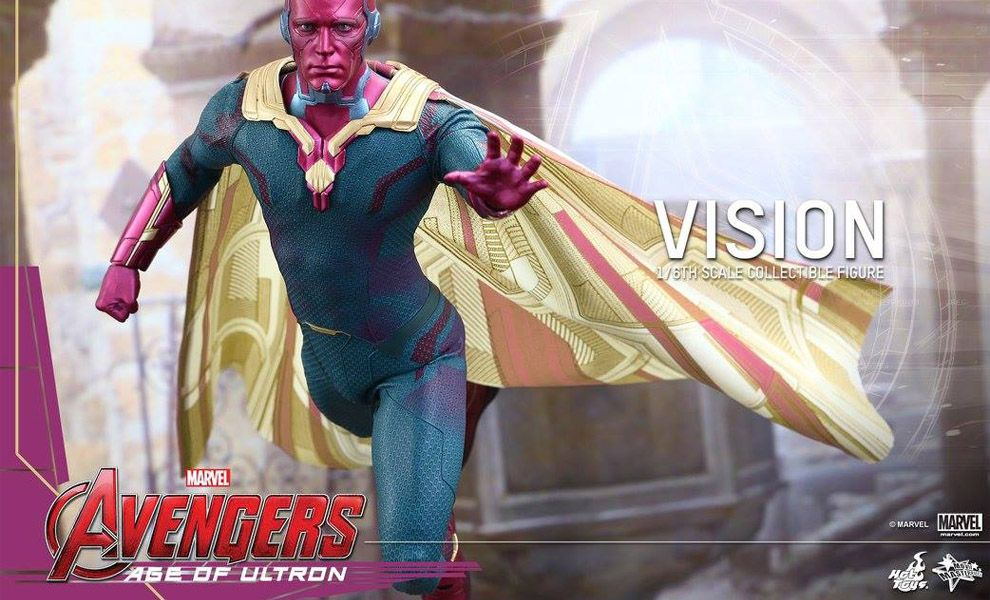 HOT TOYS MMS296 AVENGERS AGE OF ULTRON VISION