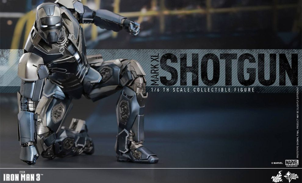 HOT TOYS MMS309 IRON MAN 3 MARK XL SHOTGUN