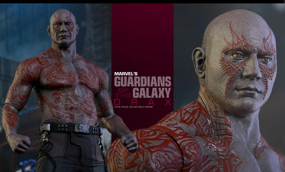 HOT TOYS MMS355 GUARDIANS OF THE GALAXY DRAX