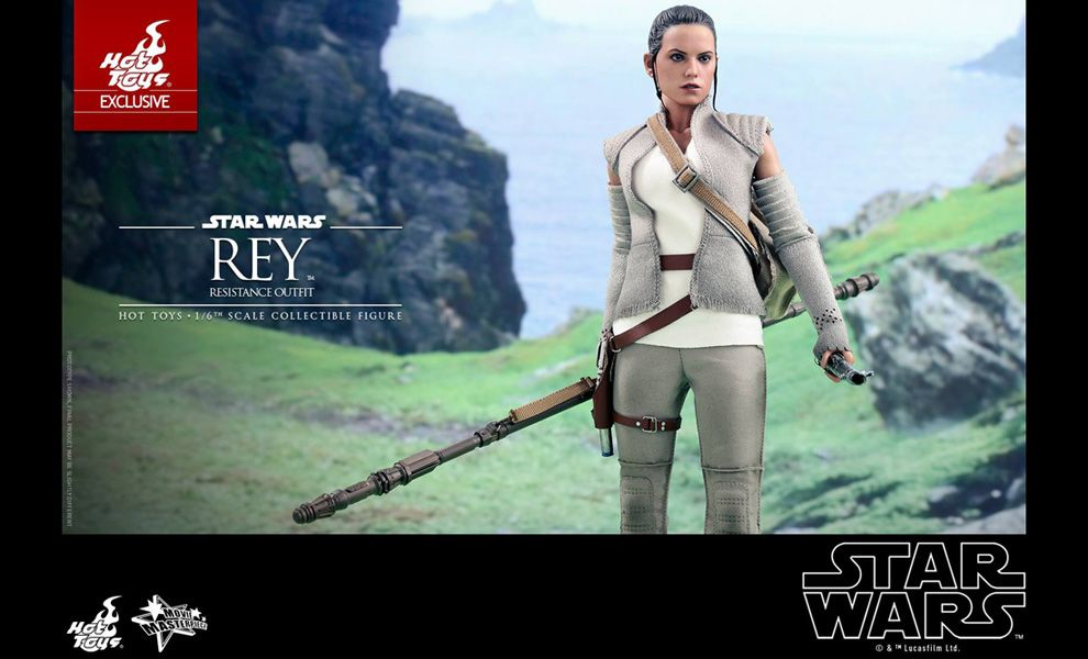 HOT TOYS MMS377 STAR WARS REY RESISTANCE OUTFIT EXCLSUIVE