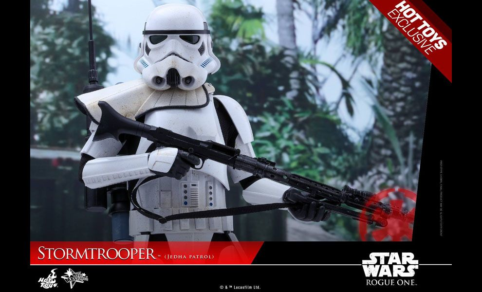 HOT TOYS MMS386 STAR WARS ROGUE ONE STORMTROOPER JEDHA PATROL EXCLUSIVE