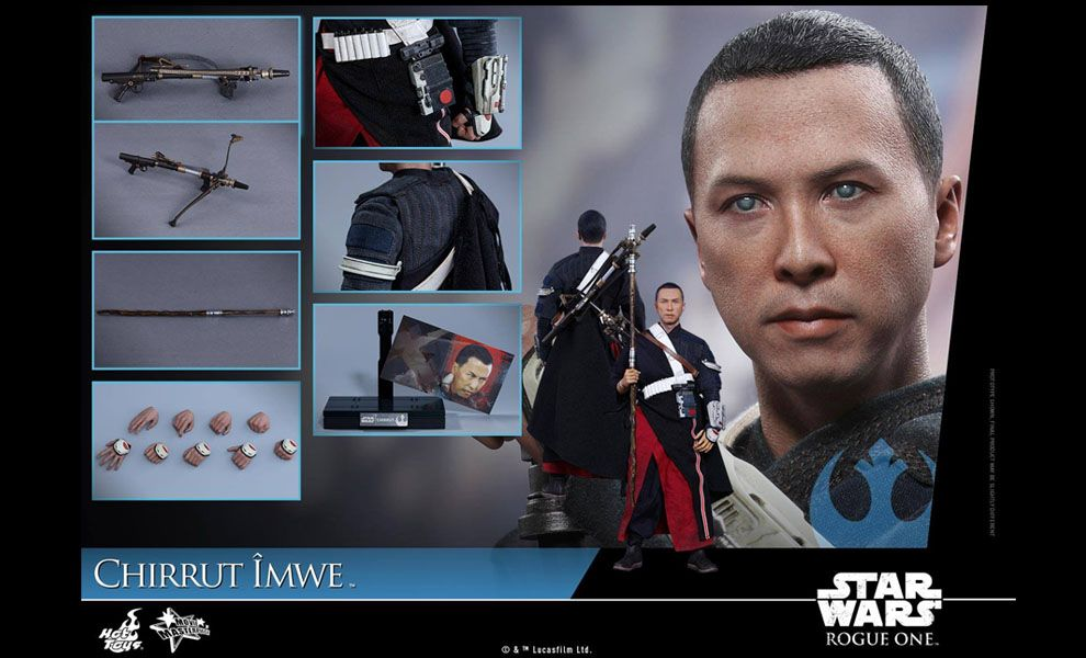 HOT TOYS MMS403 STAR WARS ROGUE ONE CHIRRUT IMWE NORMAL