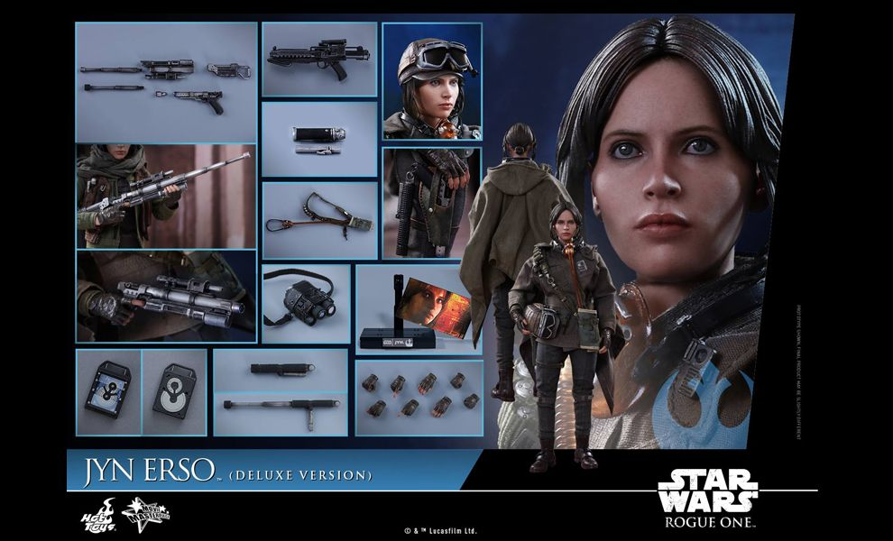 HOT TOYS MMS405-DX JYN ERSO STAR WARS ROGUE ONE