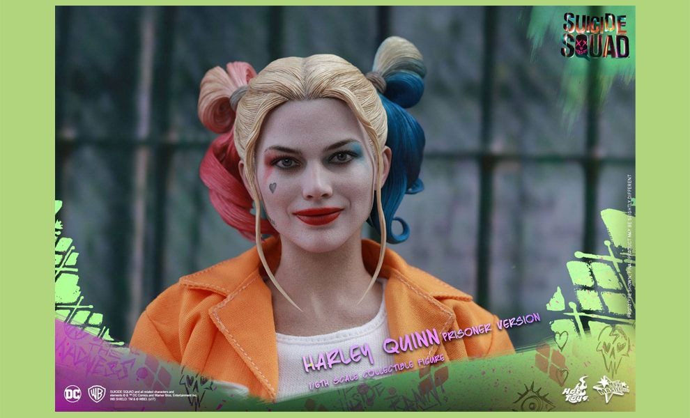 HOT TOYS MMS407 SUICIDE SQUAD HARLEY QUINN PRISONER VERSION