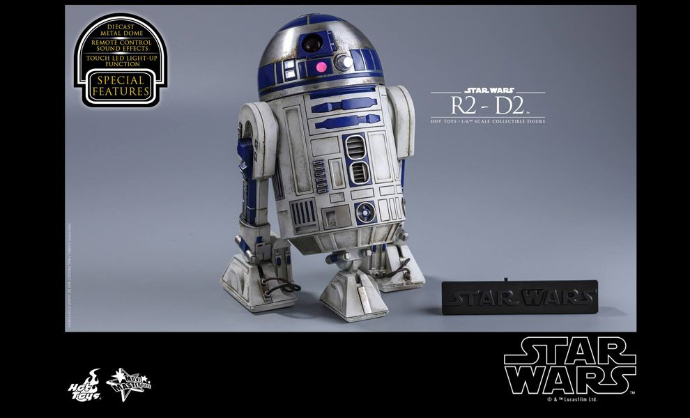 HOT TOYS MMS408 STAR WARS THE FORCE AWAKENS R2-D2 NORMAL STOCK