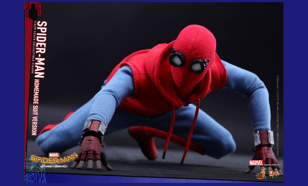 HOT TOYS MMS414 SPIDER-MAN HOMECOMING HOMEMADE SUIT VERSION