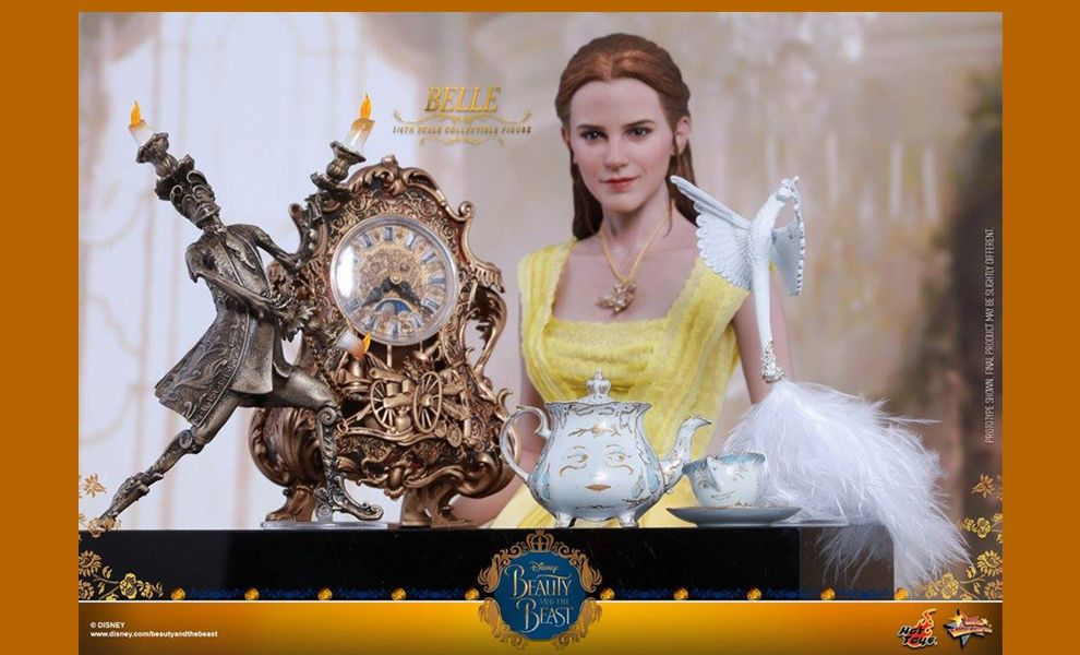 HOT TOYS MMS422 BEAUTY AND THE BEAST EMMA WATSON BELLE