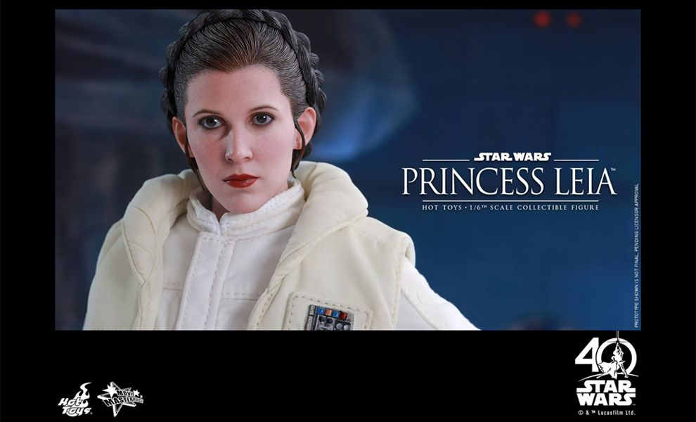 HOT TOYS MMS423 PRINCESS LEIA STAR WARS EPISODE V CARRIE FISHER NORMAL STOCK