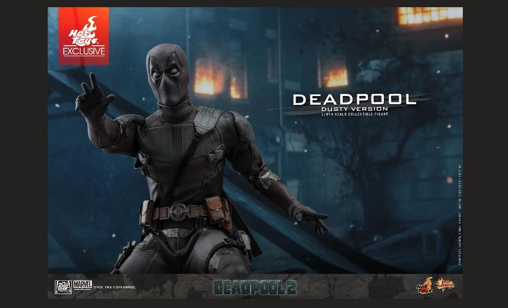 HOT TOYS MMS505 DEADPOOL 2 DEADPOOL DUSTY VERSION HOT TOYS EXCLUSIVE