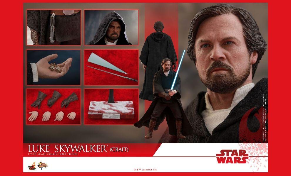 Hot Toys MMS507 Star Wars The Last Jedi  Luke Skywalker Crait