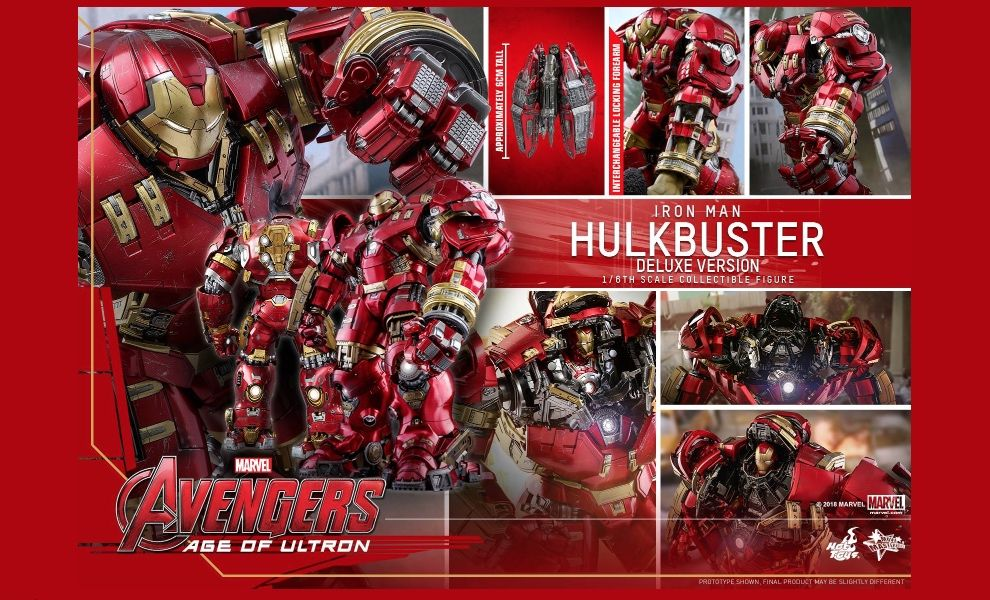 HOT TOYS MMS510 AVENGERS AGE OF ULTRON HULKBUSTER DELUXE VERSION