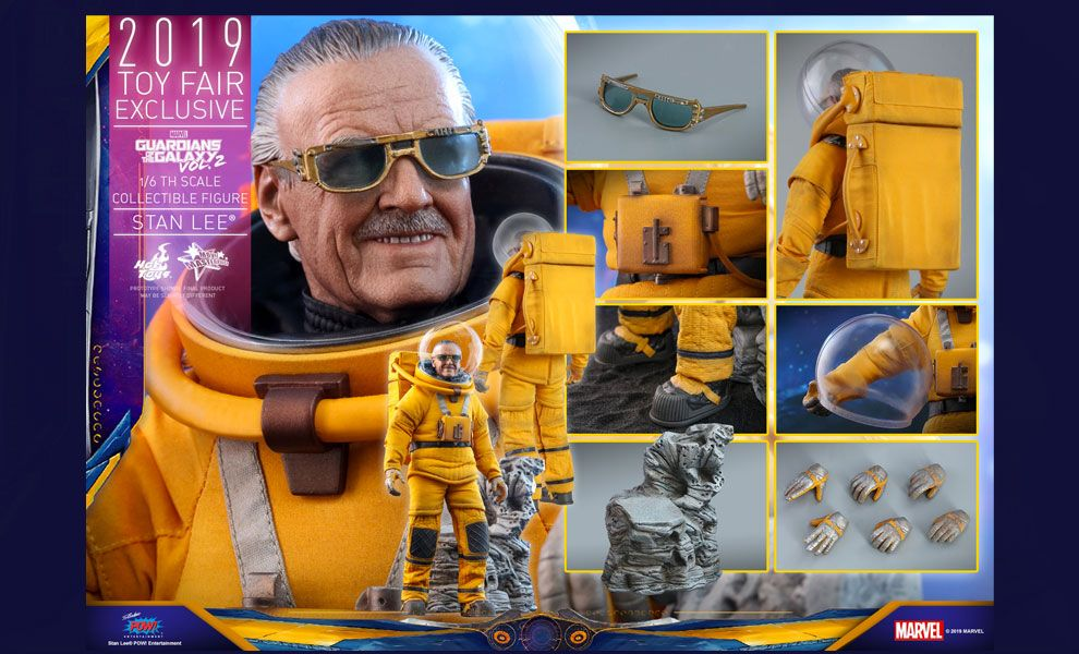 HOT TOYS MMS545 Guardians of the Galaxy VOLUME 2 STAN LEE