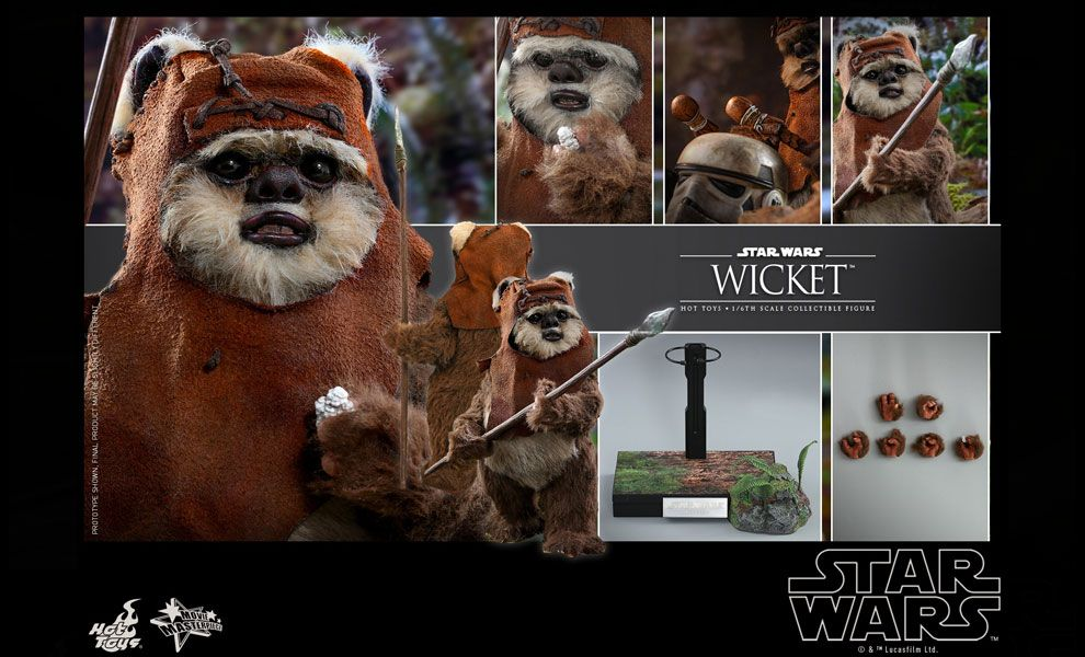 Hot Toys MMS550 Wicket Star Wars Return of the Jedi