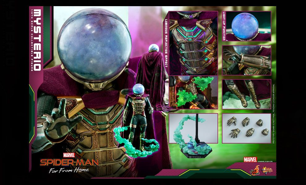 HOT TOYS MMS556 SPIDER-MAN FAR FROM HOME MYSTERIO