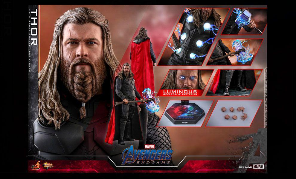 HOT TOYS MMS557 Avengers Endgame Movie Banner