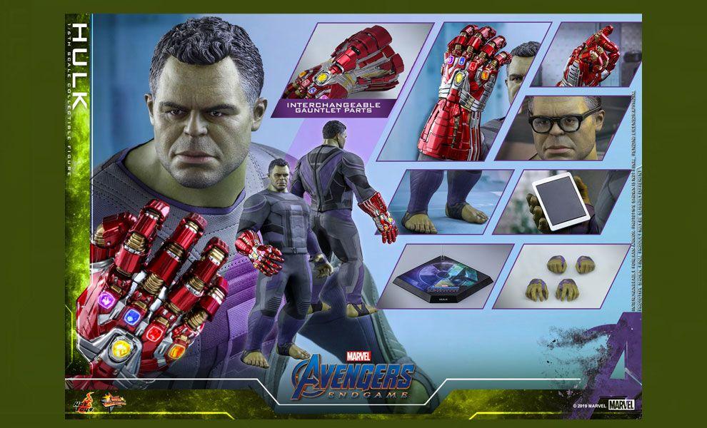 HOT TOYS MMS558 Avengers Endgame Hulk banner
