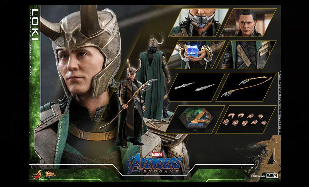 Hot Toys MMS579 Avengers Endgame Loki Banner