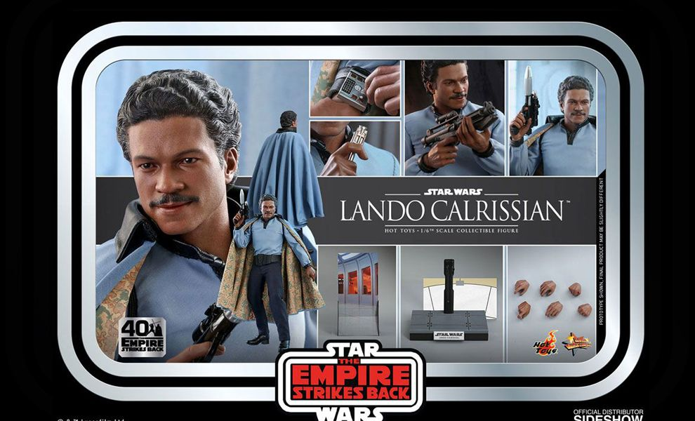 Hot Toys MMS588 Calrissian Star Wars The Empire Strikes Back 40th Anniversary Collection Banner