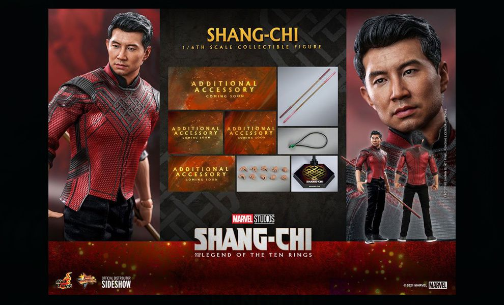 Hot Toys MMS614 Shang-Chi Shang-Chi and the Legend of the Ten Rings Movie Banner