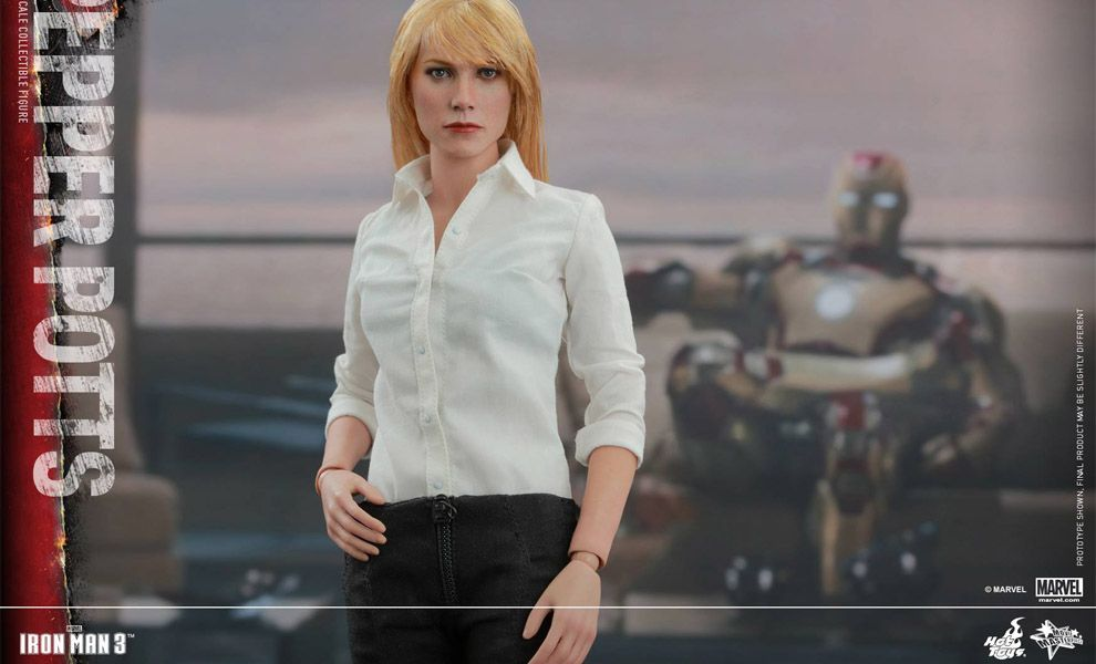 HOT TOYS MMS311 IRON MAN 3 PEPPER POTTS